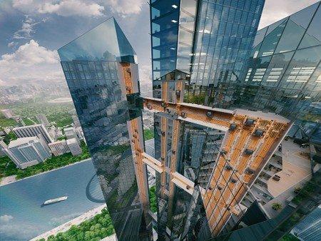 全球第一部水平及垂直行走的無纜升降機系統——MULTI的啟用儀式
