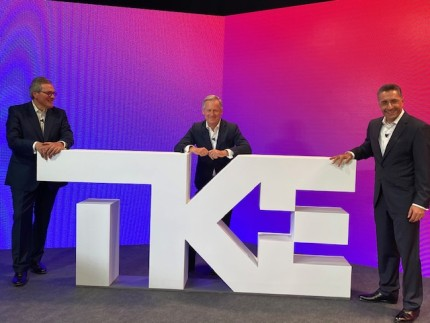 thyssenkrupp Elevator is now TK Elevator and launches its new brand TKE