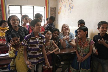 Partnership with SOS children's villages