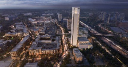 New elevator high-rise test tower and Innovation Complex in Atlanta