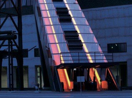 Tallest freestanding escalator