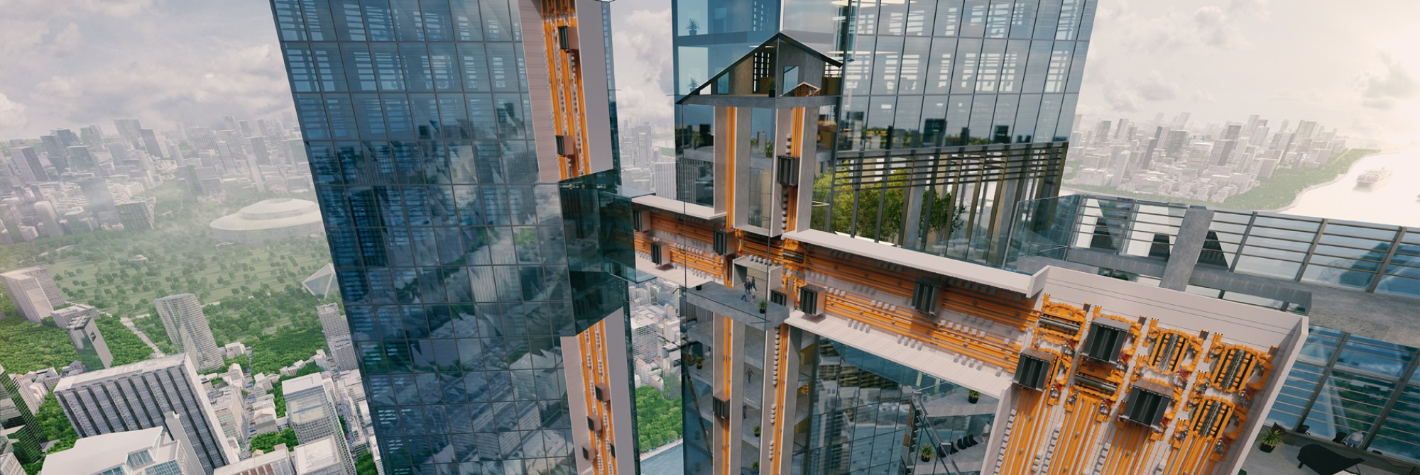 MULTI  - The world's first rope-free elevator
