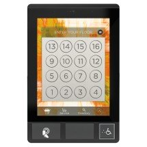 Black anodized aluminum frame with black-edged screen