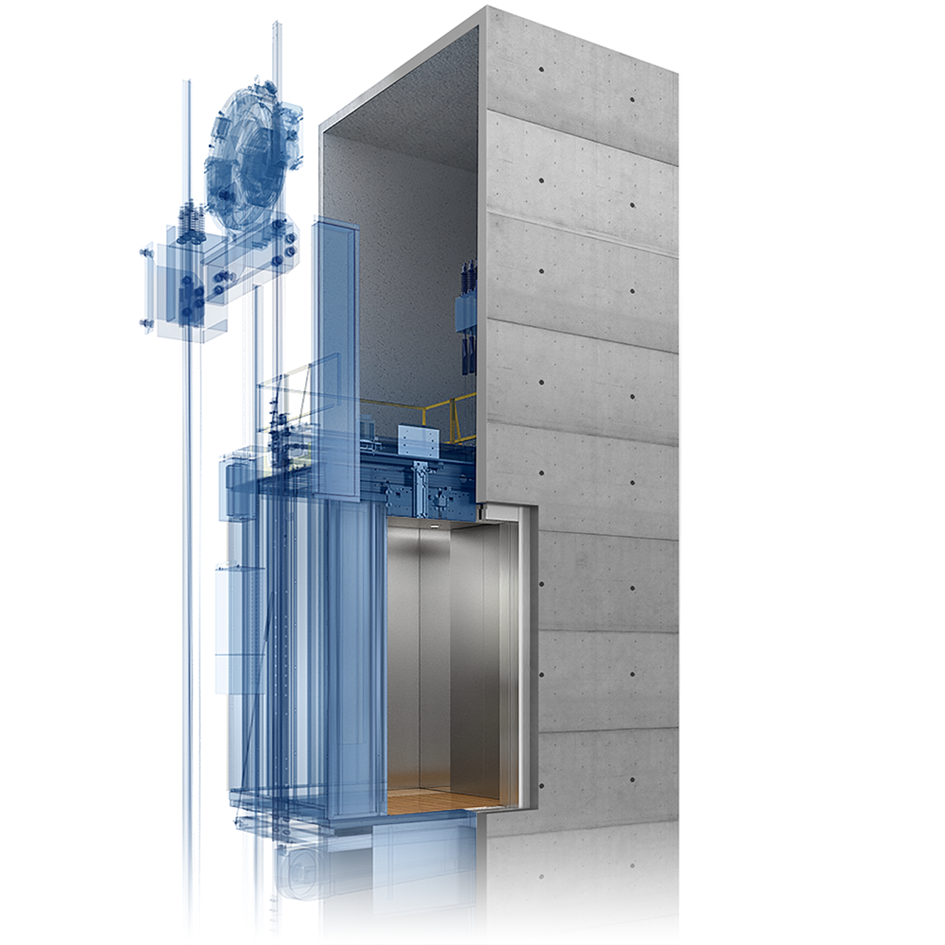 Evolution1 Elevator By Thyssenkrupp