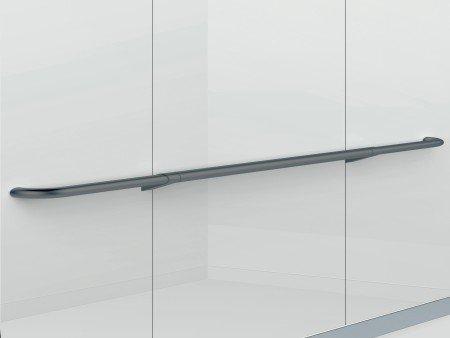 Handrail Satin Black Sloped