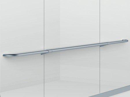 Handrail Satin Silver Sloped