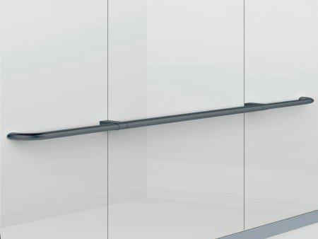 Handrail Satin Black Straight
