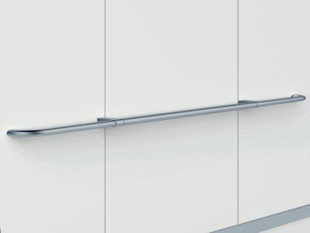 Handrail Satin Silver Straight