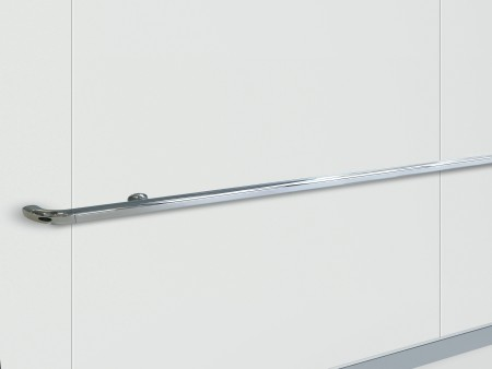 Handrail Chrome Plated Straight