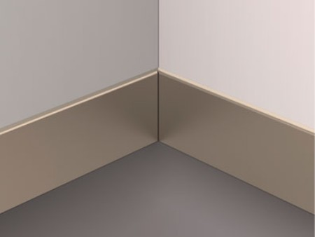 Stainless steel Champagne skirting