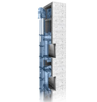 TWIN® - double-car passenger elevator