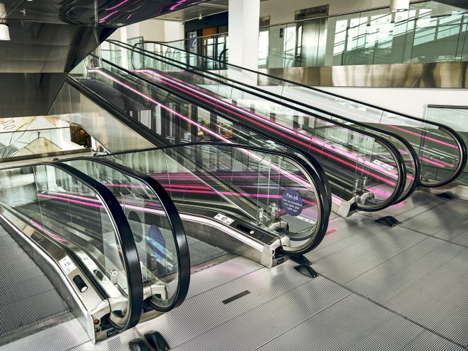 Sophisticated and smartly engineered solutions - escalators