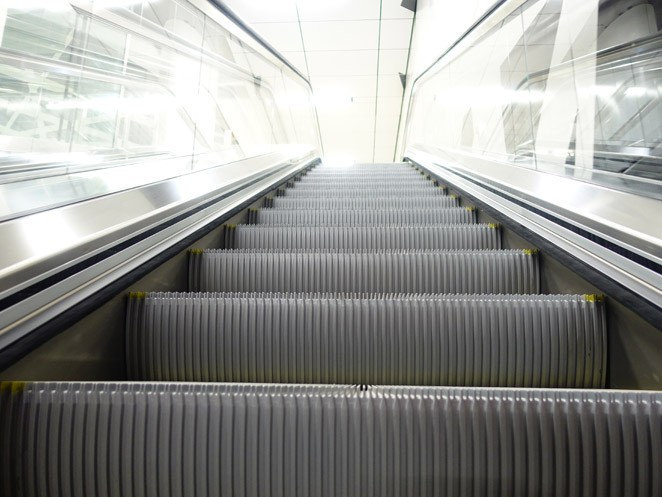 Tugela escalator - Superbly streamlined