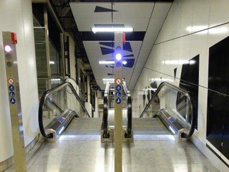 Escaleras mecánicas Tugela - Semáforos: columna