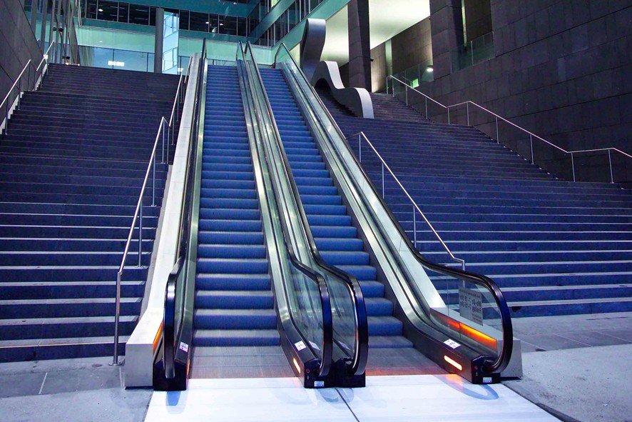 Escaleras mecánicas tugela - Tecnología resistente al agua