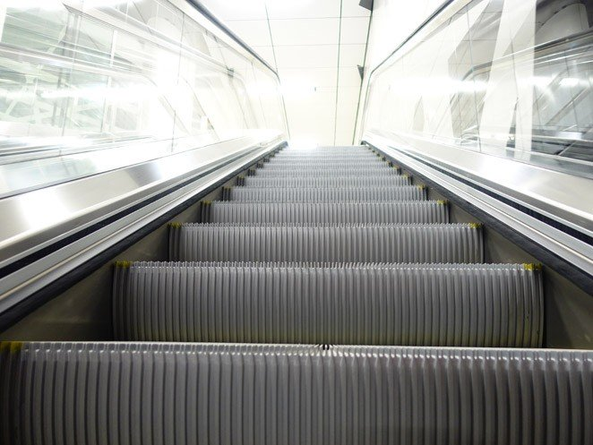 Escaleras mecánicas tugela - Aerodinamismo extraordinario