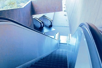 Tugela - escalator for high-traffic areas
