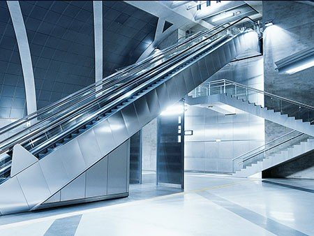 victoria escalator - aesthetic choices