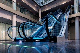 velino series - Las escaleras mecánicas para los espacios interiores más elegantes
