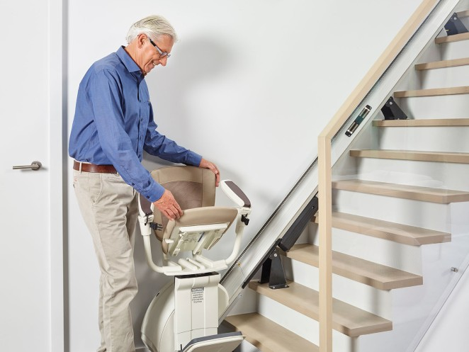Comfort stairlift - Tailored solution for straight staircases