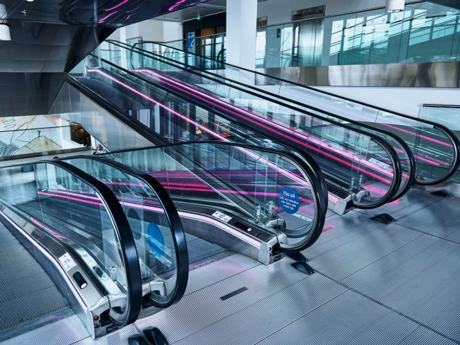 Innovative ideas and cutting-edge functionality - moving sidewalks