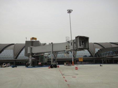 Pasarelas de embarque de pasajeros - Aeropuerto de Chengdú-Shuangliu
