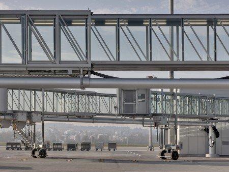 Passenger boarding bridges - Zurich Airport, Switzerland