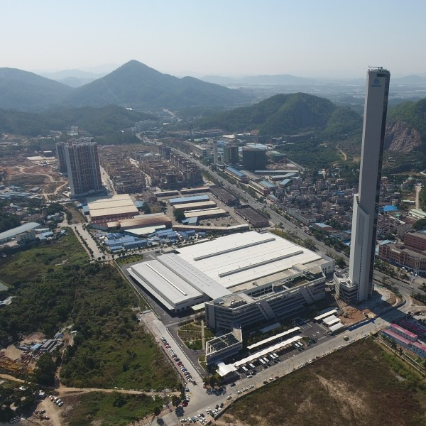 thyssenkrupp Elevator factory in Zhongshan, China