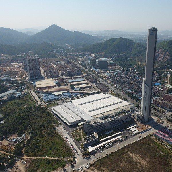 thyssenkrupp Elevator factory in Zhongshan, China