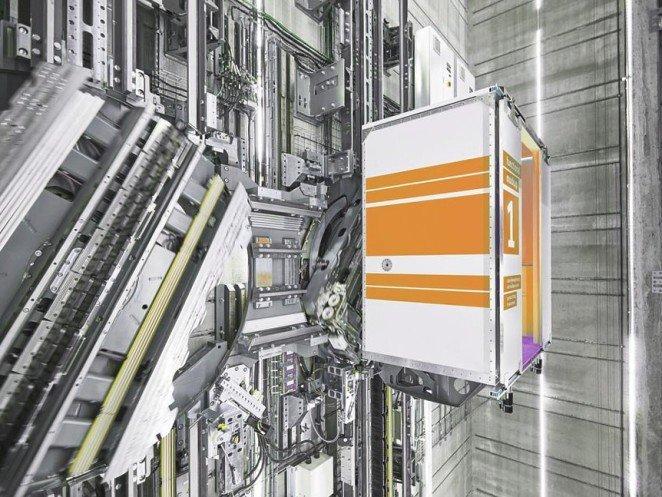 El primer ascensor sin cables del mundo - multi