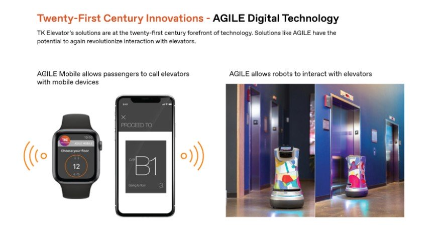 Aloft Chicago Robot Interacting with AGILE Enabled Elevators