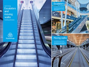thyssenkrupp escalator moving walks